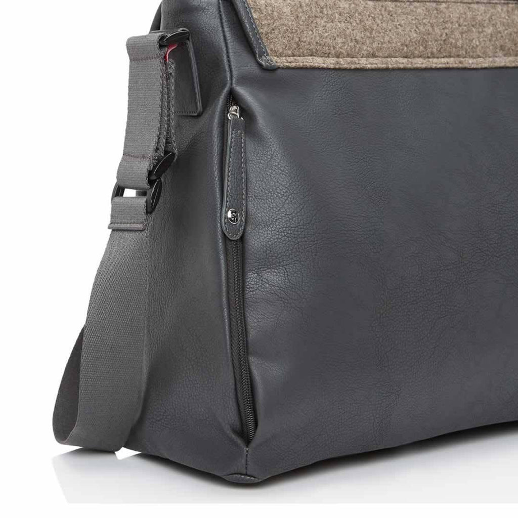 Babymel Changing Bag - Ally - Grey Zip