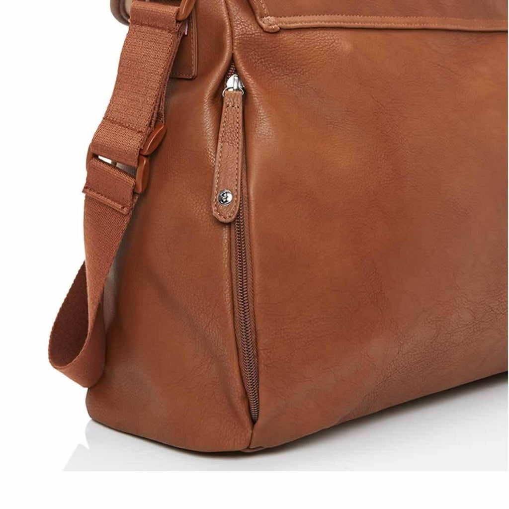Babymel Changing Bag - Ally - Tan Zip