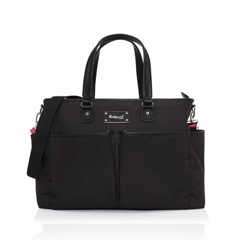Babymel Changing Bag - Bella in Diamond Texture Black