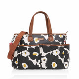 Babymel Changing Bag - Bella in Floral Black