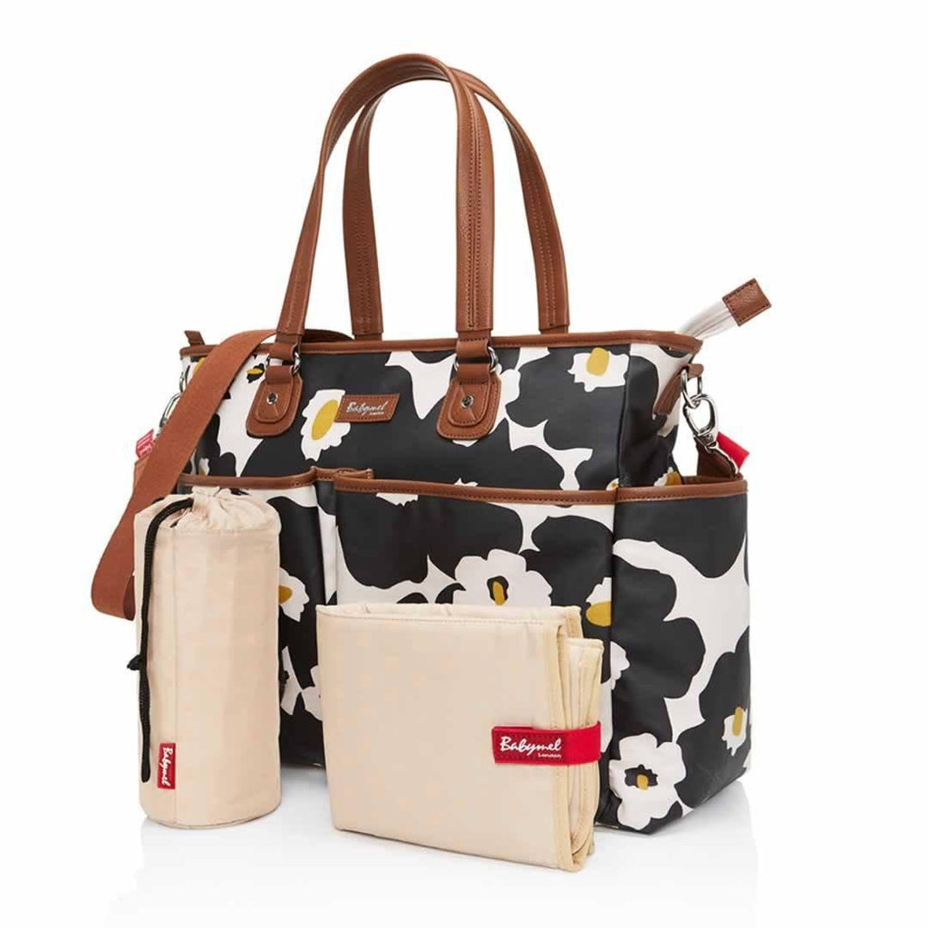 Babymel Changing Bag - Bella Floral Black