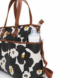 Babymel Changing Bag - Bella - Floral Black Pocket