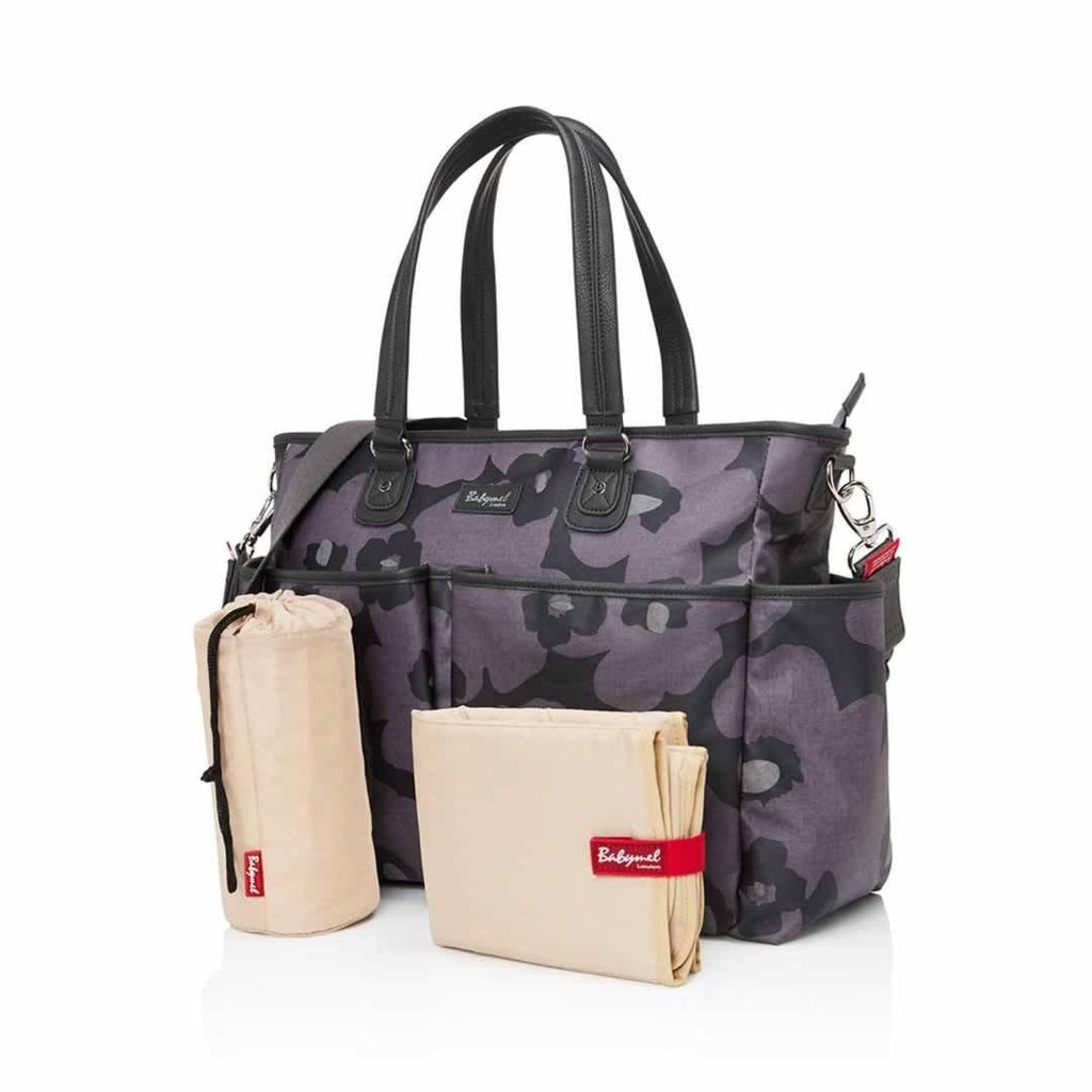 Babymel Changing Bag - Bella Floral Grey