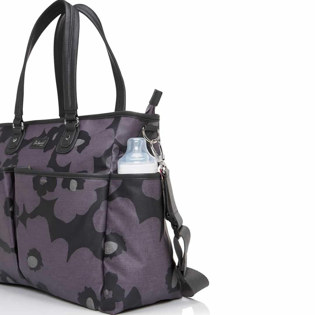 Babymel Changing Bag - Bella - Floral Grey Pocket
