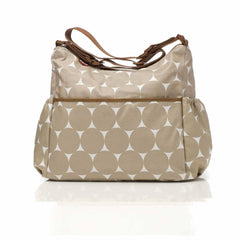Babymel Changing Bag - Big Slouchy in Jumbo Dot Fawn