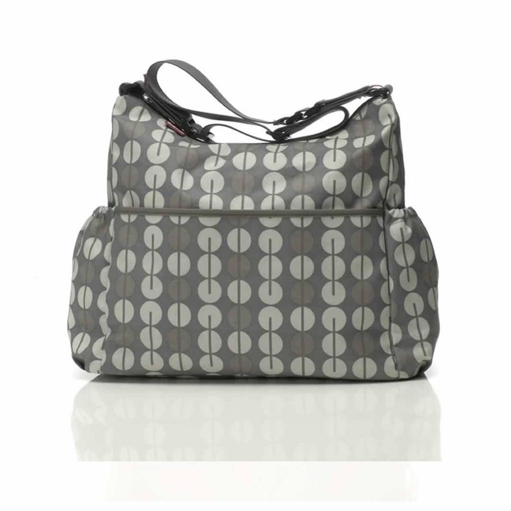 Babymel Changing Bag - Big Slouchy in Multi Dot Taupe