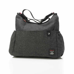 Babymel Changing Bag - Big Slouchy in Tweed Grey