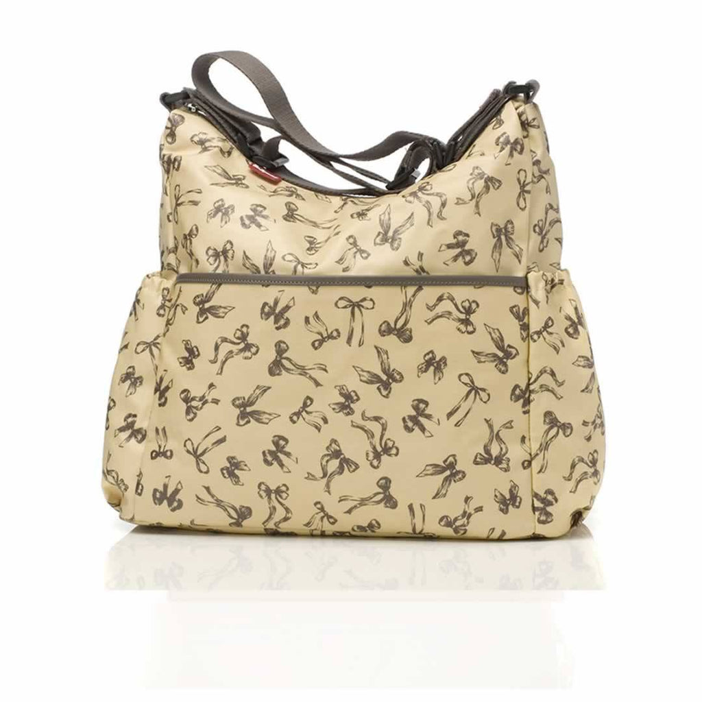 Babymel Changing Bag - Big Slouchy in Vintage Bows