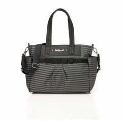 Babymel Changing Bag - Cara in Grey Stripe