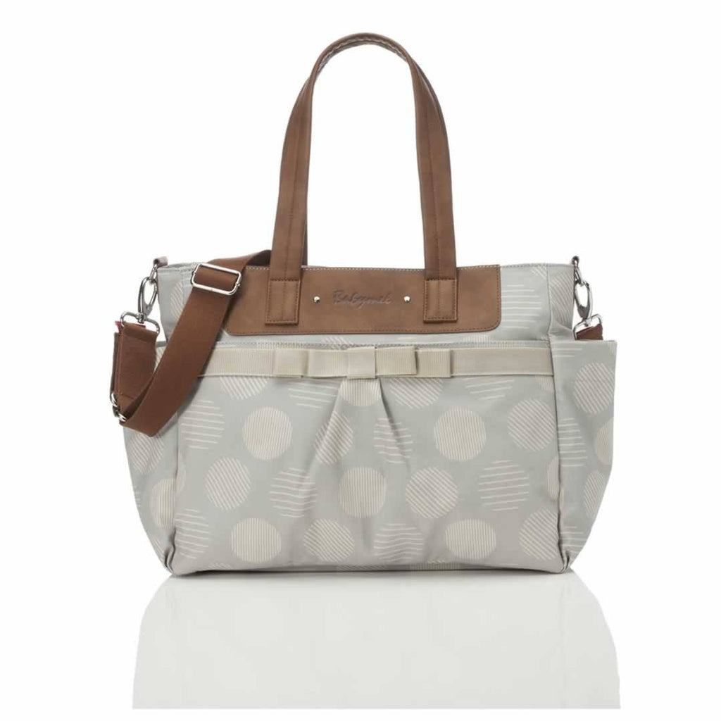 Babymel Changing Bag - Cara in Retro Grey