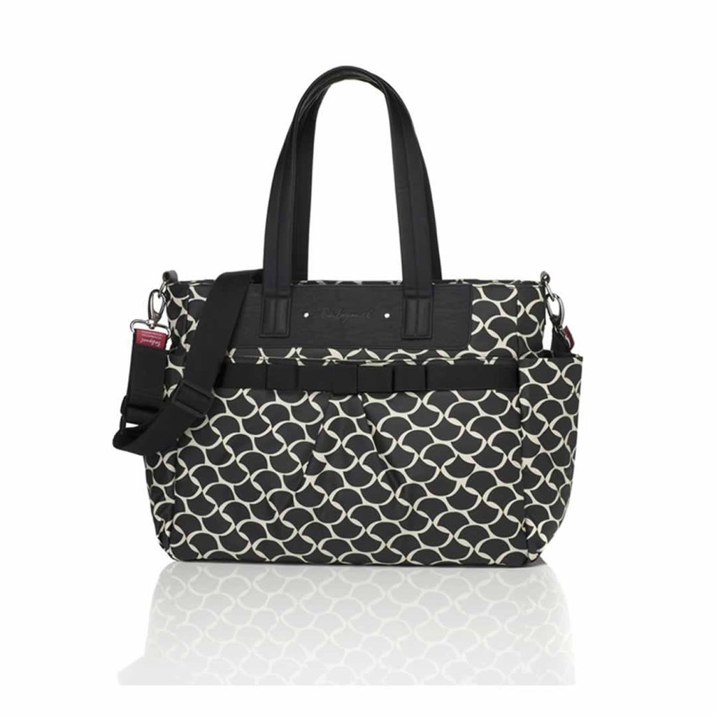 Babymel Changing Bag - Cara in Wave Black