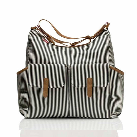 Babymel Changing Bag - Frankie - Navy Stripe - Changing Bags - Natural Baby Shower
