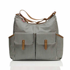 Babymel Frankie Changing Bag in Navy Stripe