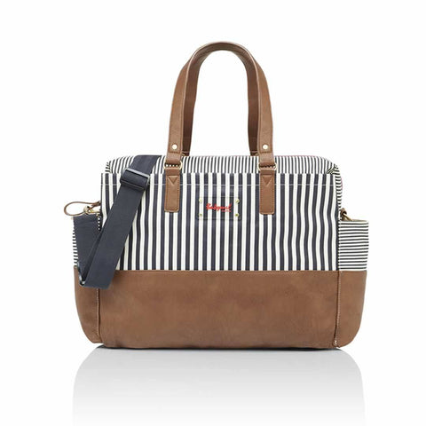 Babymel Changing Bag - Millie - Navy Stripe - Changing Bags - Natural Baby Shower