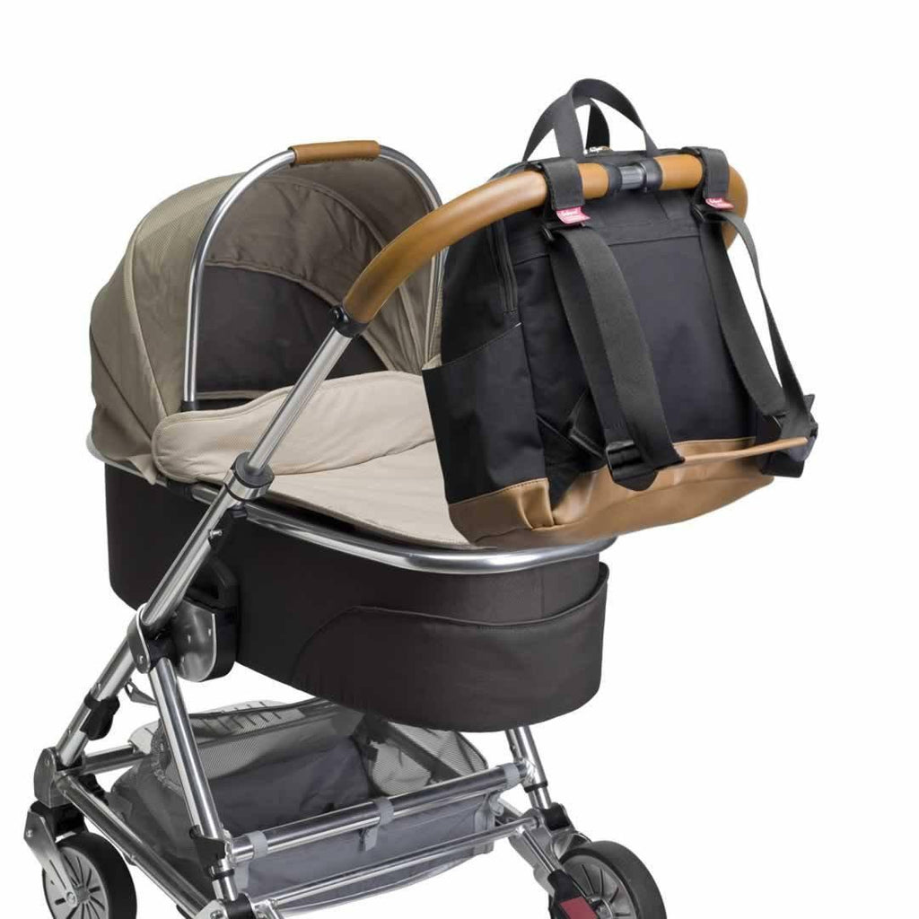 Babymel Changing Bag - Robyn - Black Pushchair