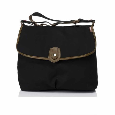 Babymel Changing Bag - Satchel - Black - Changing Bags - Natural Baby Shower