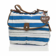 Babymel Changing Bag - Satchel in Boathouse Teal
