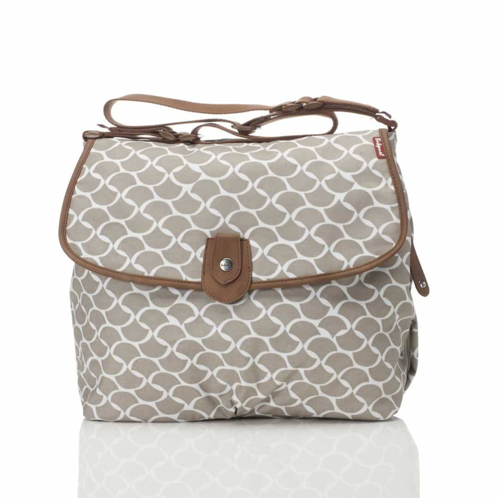 Babymel Satchel Changing Bag in Wave Fawn
