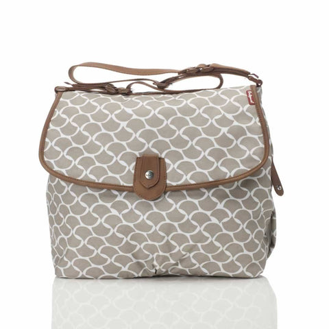 Babymel Changing Bag - Satchel - Wave Fawn - Changing Bags - Natural Baby Shower