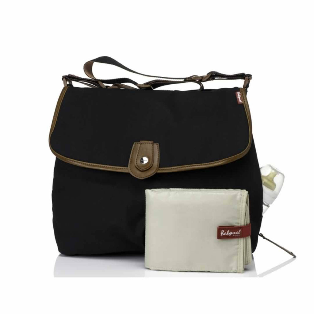 Babymel Changing Bag Satchel Black