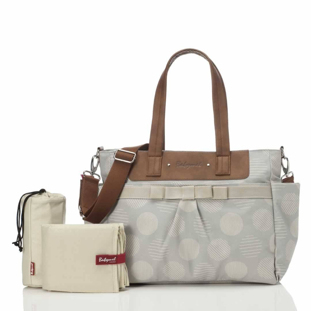 Babymel Changing Bag Cara Retro Grey