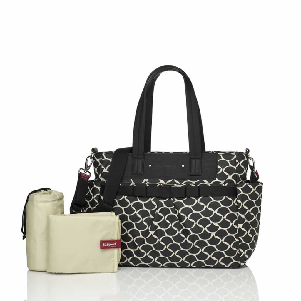Babymel Changing Bag Cara Wave Black