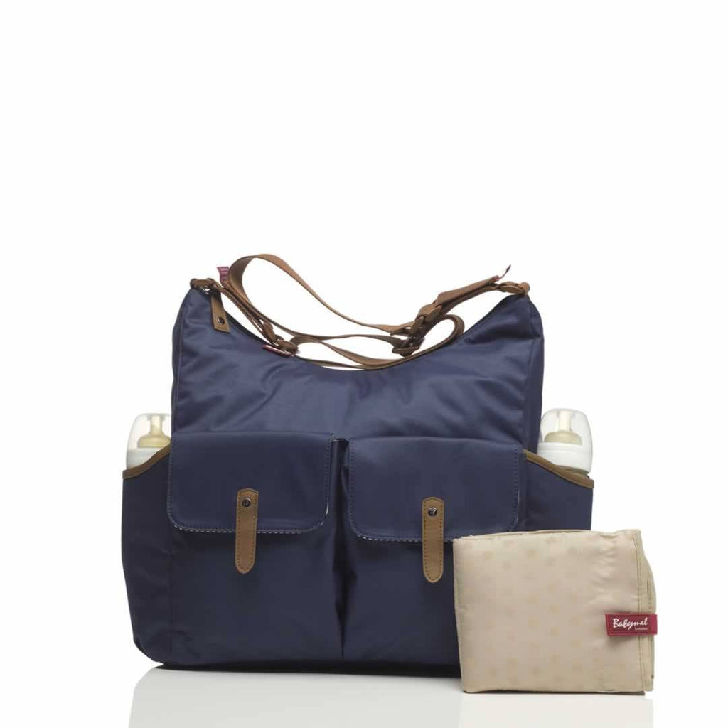 Babymel Changing Bag - Frankie - Navy - Changing Bags - Natural Baby Shower