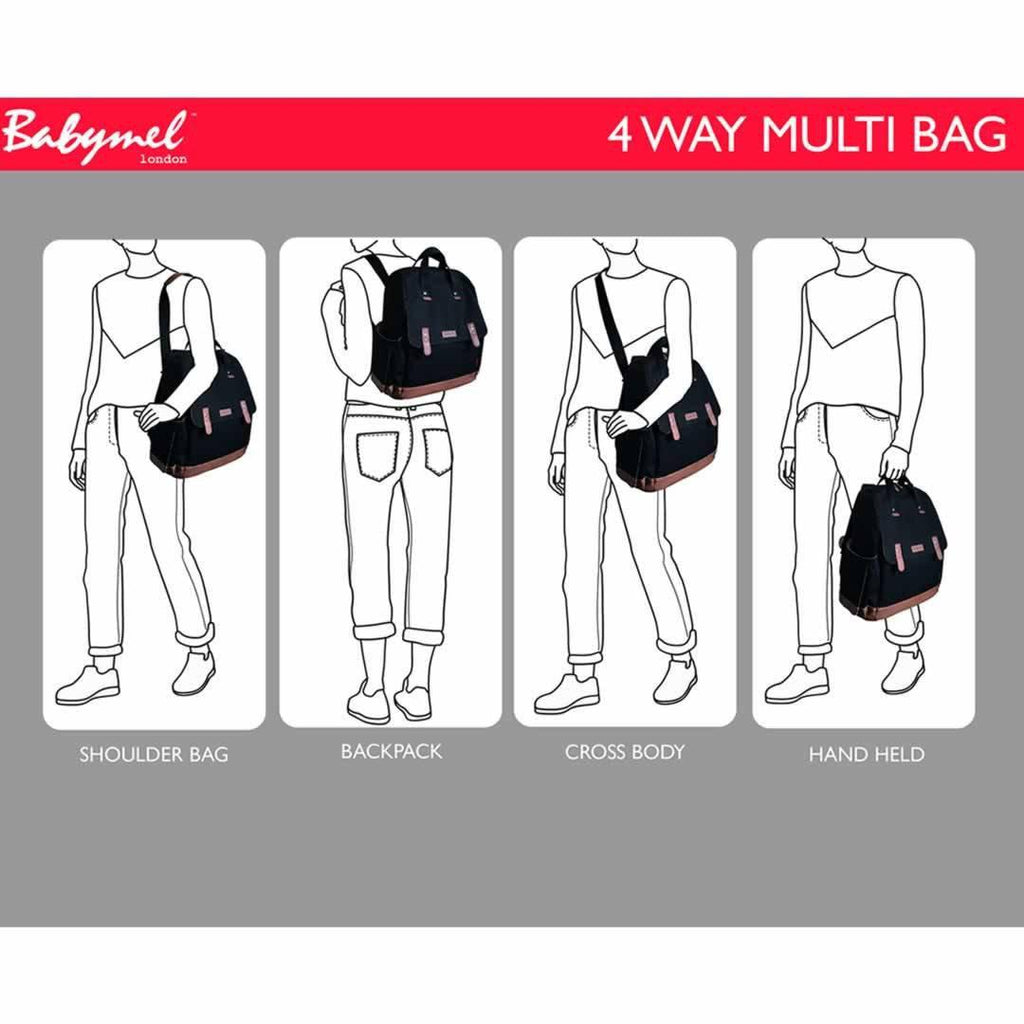 Babymel Changing Bag Robyn - Black