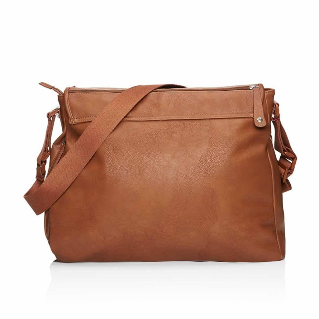 Babymel Changing Bag - Ally - Tan Back