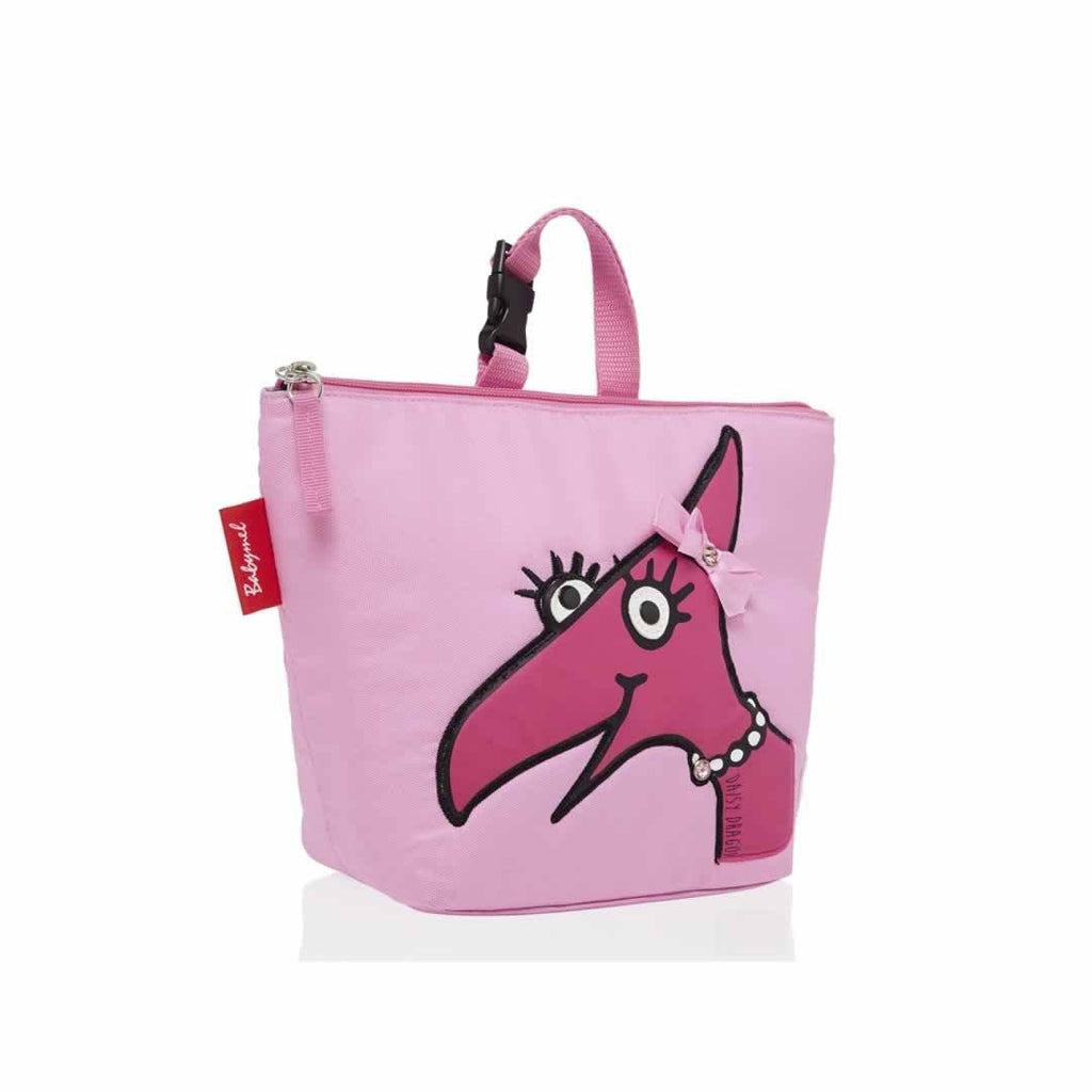Babymel Insulated Lunch Bag - Zip & Zoe - Daisy Dragon Face Side