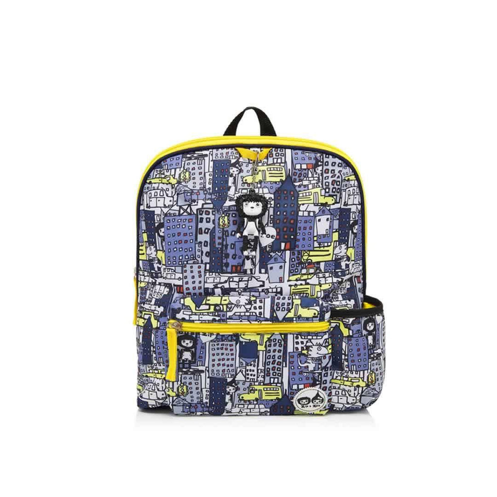 Babymel Kid's Backpack Zip & Zoe - City Print