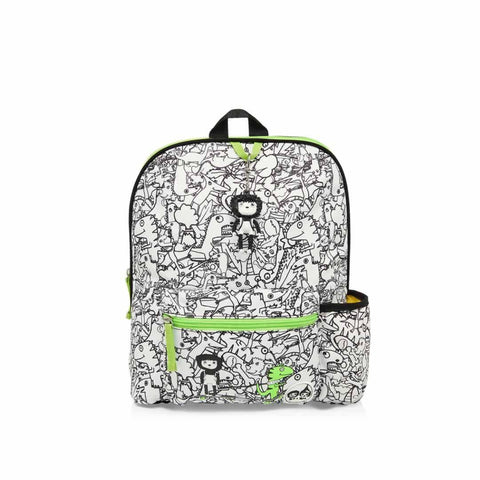 Babymel Kid's Backpack Zip & Zoe Dino Black & White