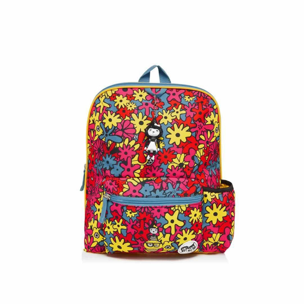 Babymel Kid's Backpack - Zip & Zoe - Floral Brights - Children's Bags - Natural Baby Shower