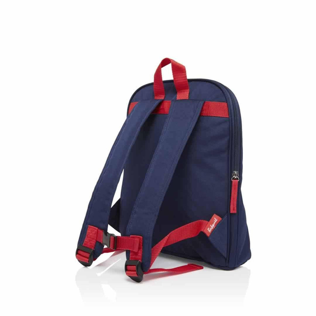 Babymel Kid's Backpack - Zip & Zoe - Navy Colour Block Back