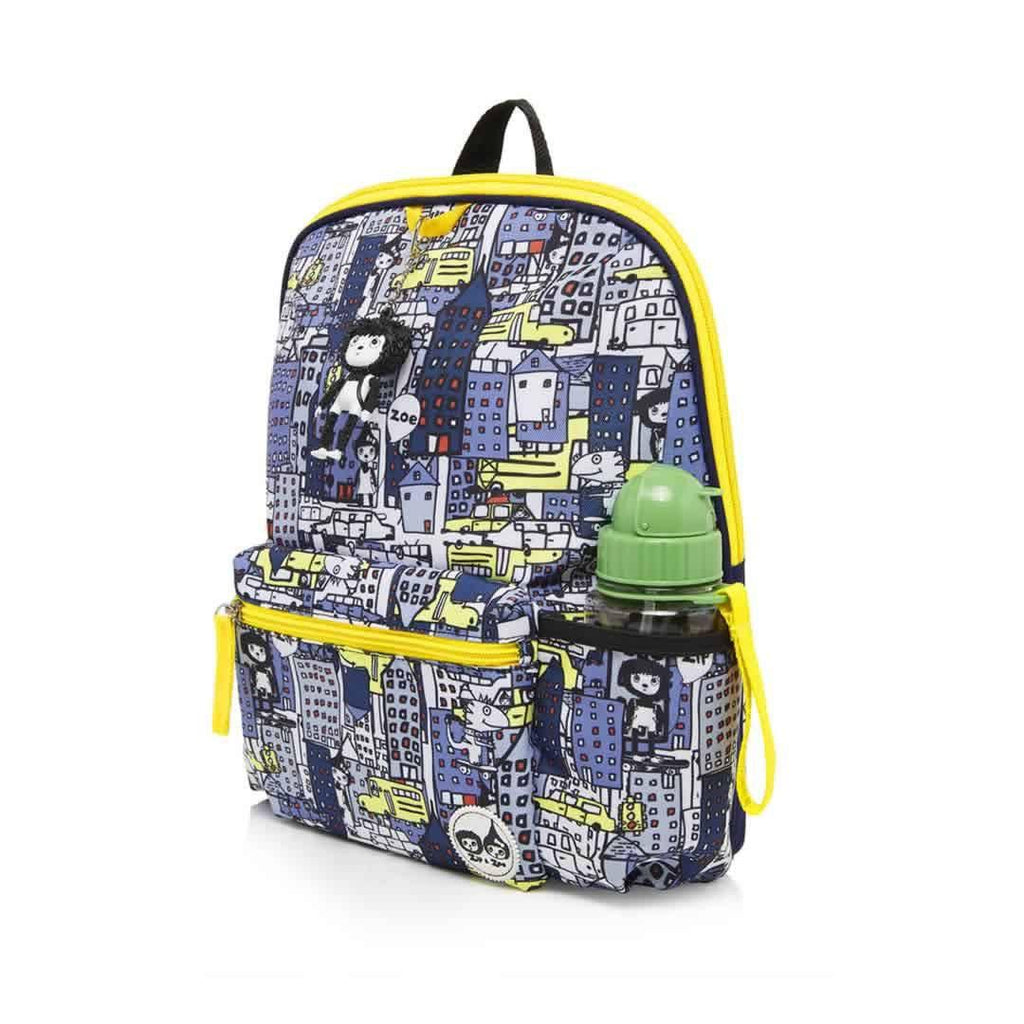 Babymel Kid's Backpack Zip & Zoe City Print