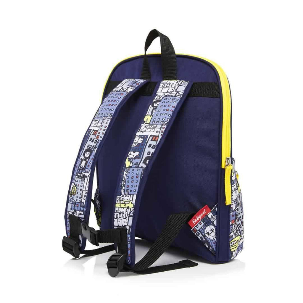 Babymel Kid's Backpack - Zip & Zoe - City Print Back