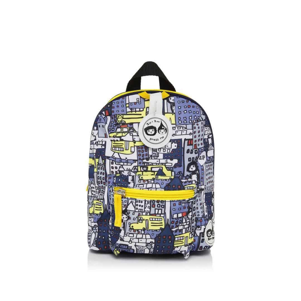 Babymel Mini Backpack Zip & Zoe - City Print