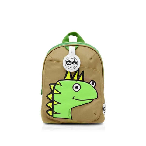 Babymel Mini Backpack - Zip & Zoe in Dylan Dino Face