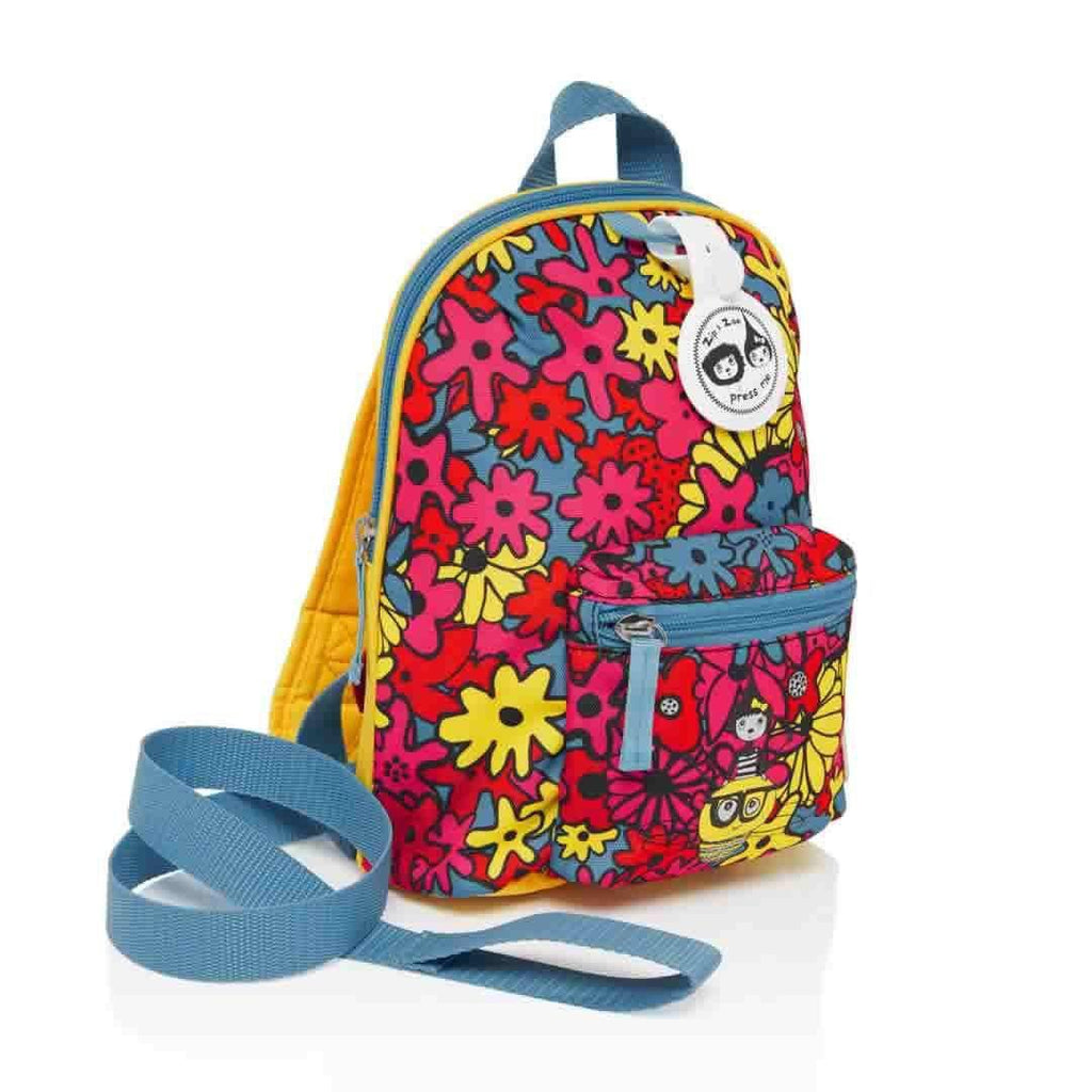 Babymel Mini Backpack - Zip & Zoe - Floral Brights-Children's Bags- Natural Baby Shower