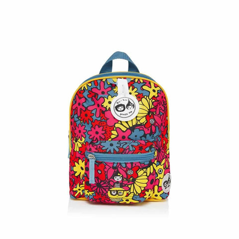 Babymel Mini Backpack - Zip & Zoe in Floral Brights