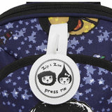 Babymel Mini Backpack - Zip & Zoe - Spaceman Detail