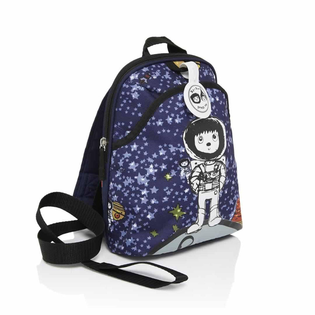 Babymel Mini Backpack - Zip & Zoe - Spaceman Side