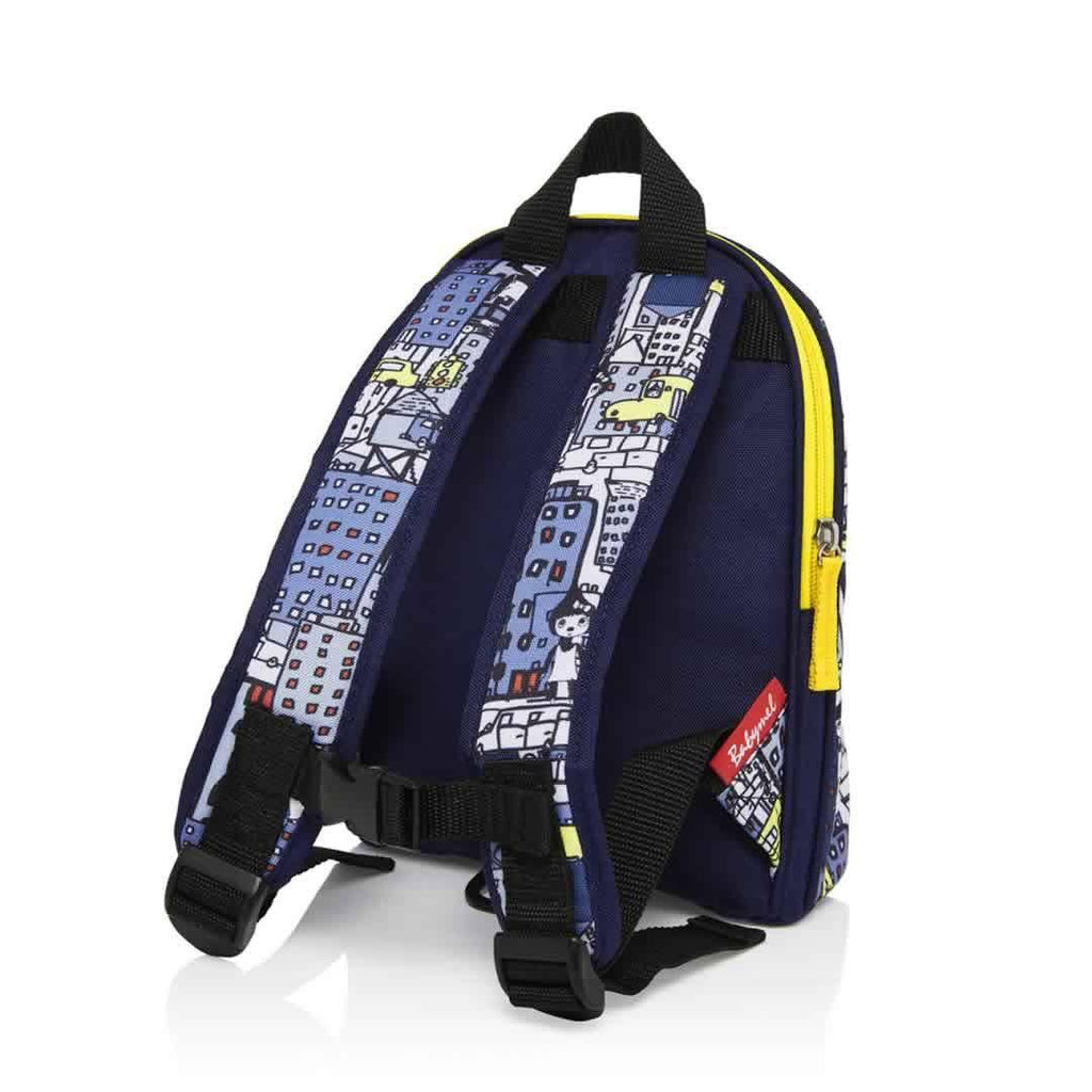 Babymel Mini Backpack - Zip & Zoe City Print