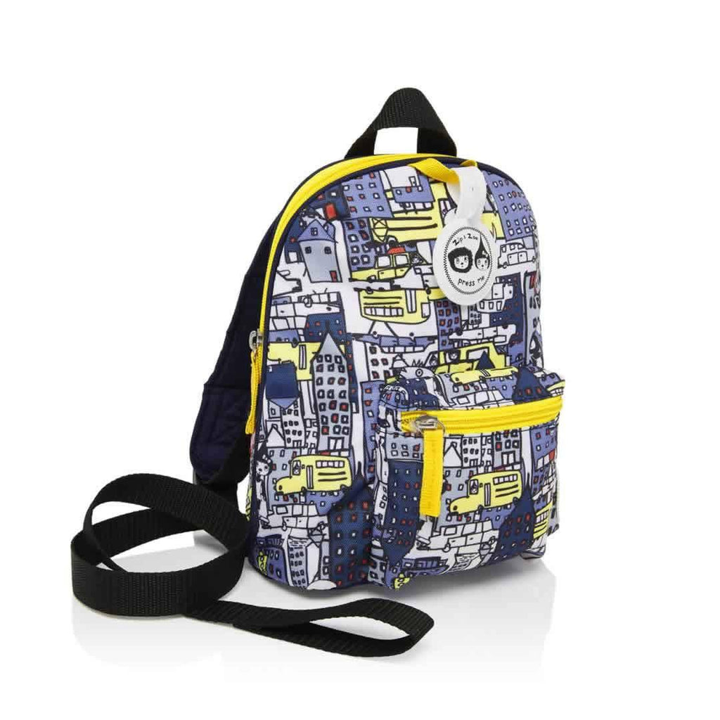 Babymel Mini Backpack Zip & Zoe in City Print