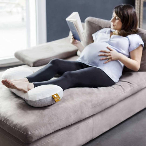 Babymoov Mum & B Maternity Cushion - Soft White - Maternity Cushion - Natural Baby Shower
