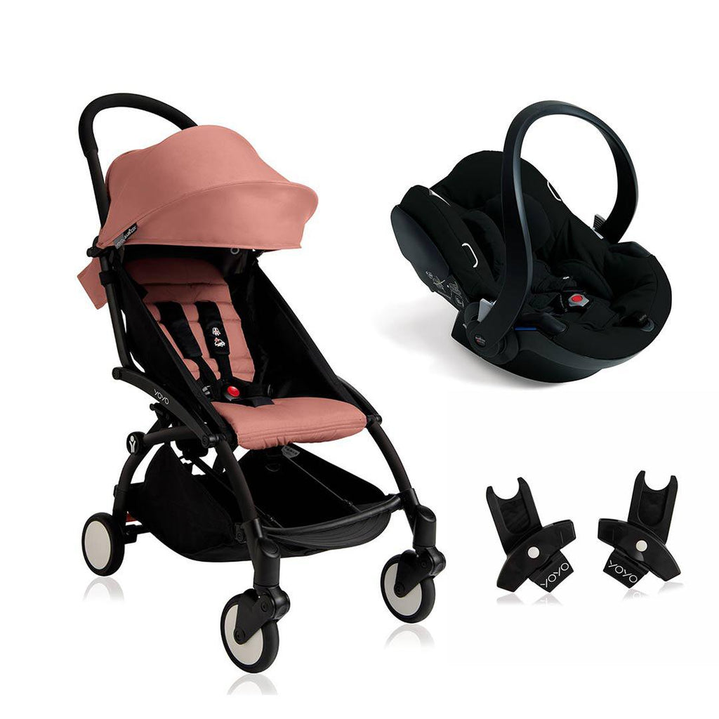 BABYZEN YOYO+ 6+ Travel System - Black with Ginger – Natural Baby Shower