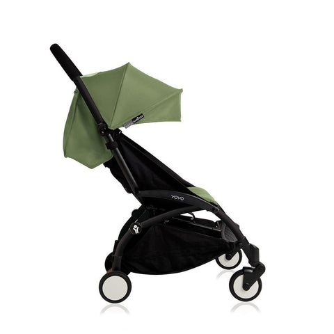 BABYZEN YOYO+ 6+ Stroller - Black with Peppermint-Strollers- Natural Baby Shower