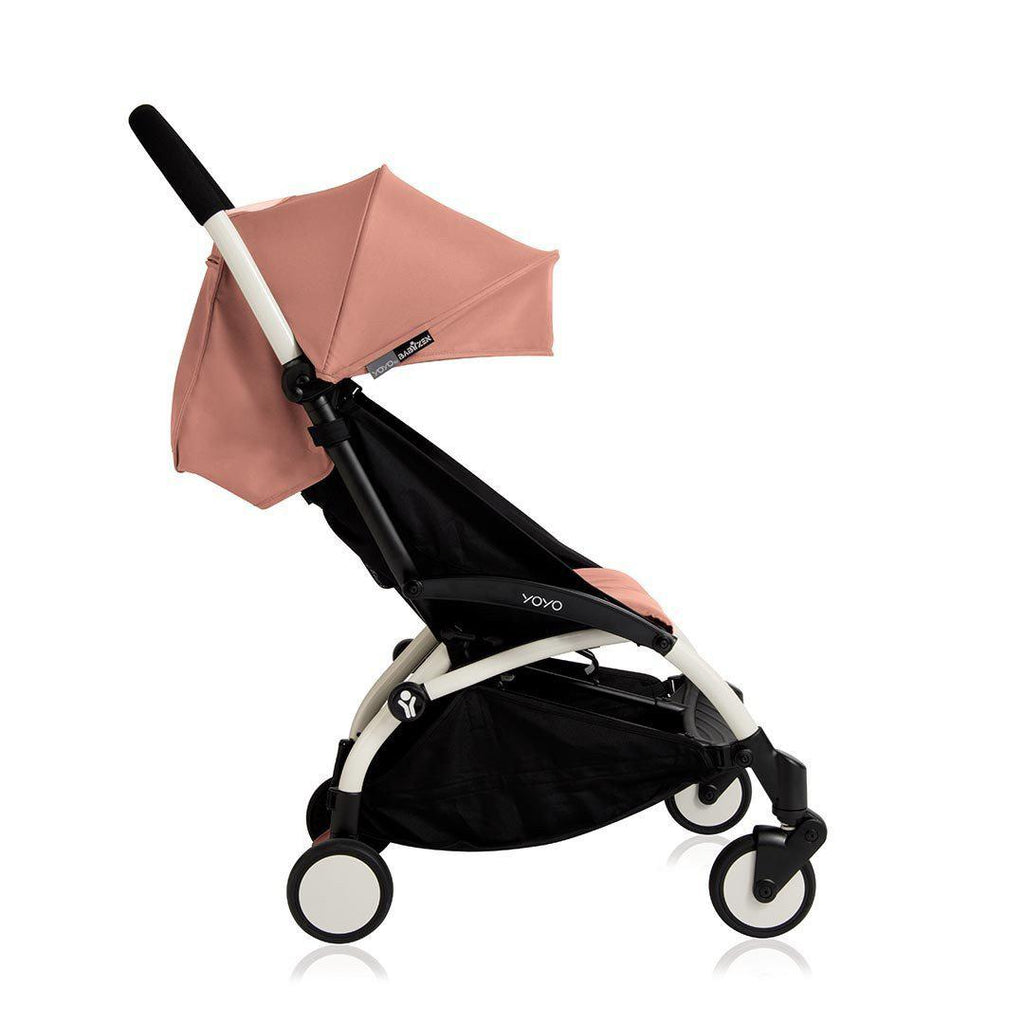 Babyzen YoYo Plus - 6+ Stroller - White with Ginger - Strollers - Natural Baby Shower