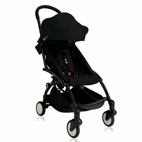 BABYZEN YOYO+ 6+ Stroller - Black with Black-Strollers- Natural Baby Shower
