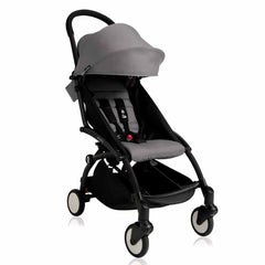 Babyzen YoYo+ - 6+ Stroller - Black with Grey